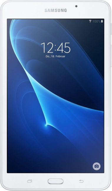 Samsung Galaxy Tab A 6 Wi-Fi (SM-T280) Tablet-PC, Android 5.1, Quad-Core, 17,7 cm (7 Zoll), 1536 MB