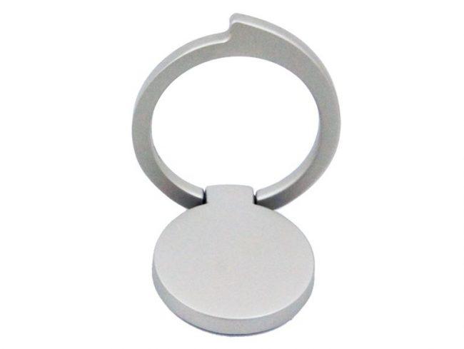 Networx Ringo Komma, Ringhalterung für iPhone, silber
