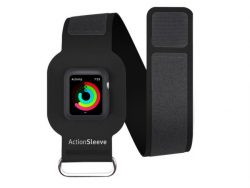 Twelve South ActionSleeve, Armband für Apple Watch 38 mm, Neopren, schwarz