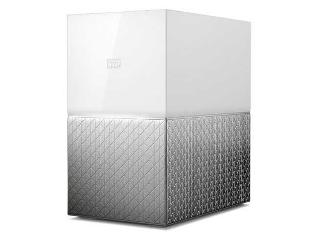 WD My Cloud Home Duo, 8 TB, Ethernet/USB 3.0, weiß/silber