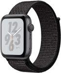 Apple Watch Nike+ Series 4 GPS, Aluminiumgehäuse mit Nike Sportarmband Loop 40mm