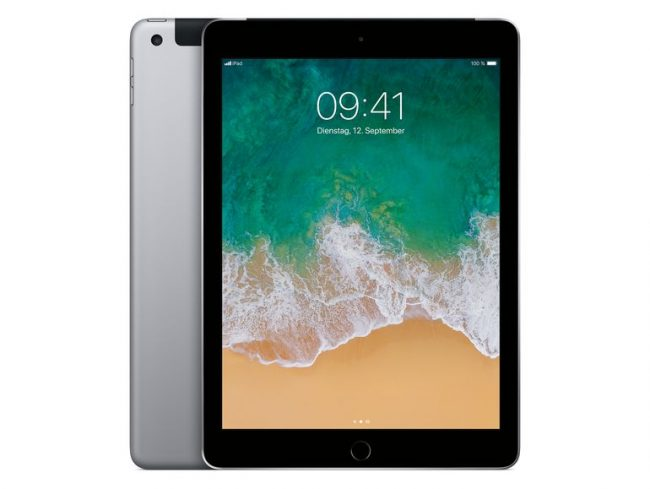 Apple iPad mit WiFi & Cellular, 32 GB, space grau