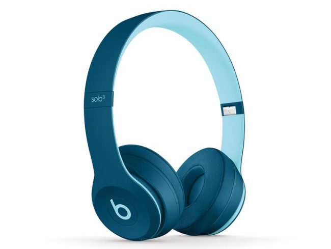 Beats Solo3 Wireless, Pop Collection, On-Ear-Headset, Bluetooth, pop blau