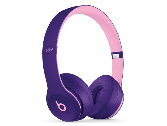 Beats Solo3 Wireless, Pop Collection, On-Ear-Headset, Bluetooth, pop violett