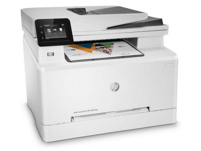 HP Color LaserJet Pro M281fdw, AirPrint Farb-Multifunktionsdrucker
