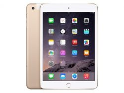 Apple iPad mini 3 mit WiFi & Cellular, 16 GB, gold