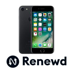 Apple iPhone 7 128 GB Schwarz Renewd