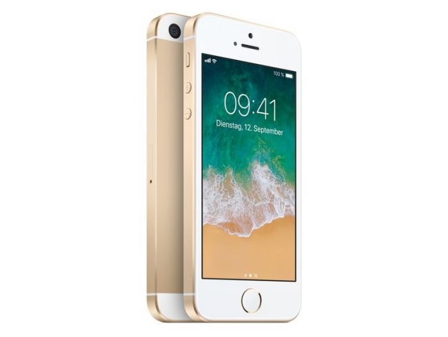 Apple iPhone SE, 128 GB, gold