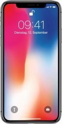 Apple iPhone X Smartphone (14,7 cm/5,8 Zoll, 64 GB Speicherplatz, 12 MP Kamera)