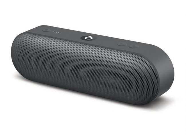 Beats Pill+, mobiler Lautsprecher, Neighbourhood Collection, asphaltgrau