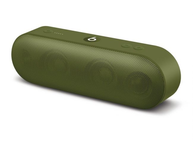 Beats Pill+, mobiler Lautsprecher, Neighbourhood Collection, olivgrün