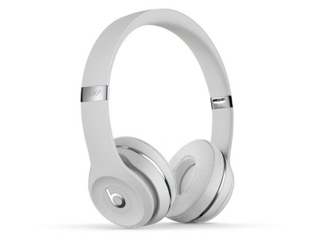 Beats Solo3 Wireless, On-Ear-Headset, Bluetooth, 3,5 mm Klinke, satin silber
