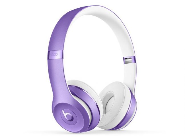 Beats Solo3 Wireless, On-Ear-Headset, Bluetooth, 3,5 mm Klinke, ultra-violet