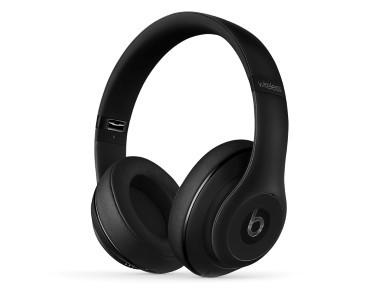 Beats Studio Wireless, Over-Ear-Headset, Bluetooth, faltbar, mattschwarz