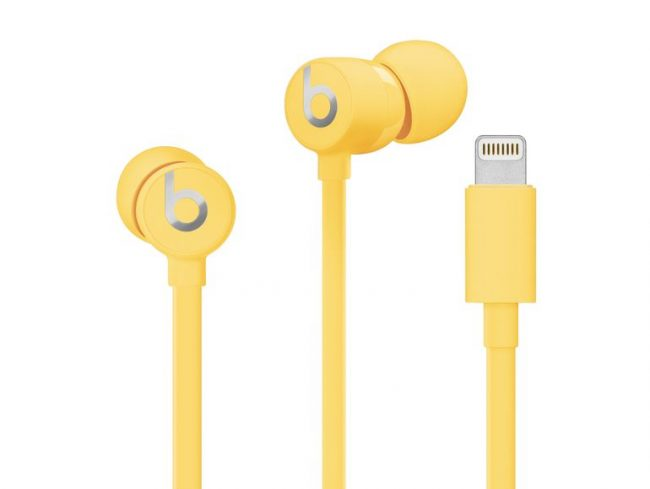 Beats urBeats3 Lightning, In-Ear-Headset, gelb