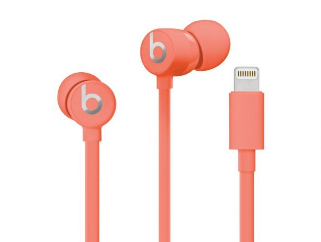 Beats urBeats3 Lightning, In-Ear-Headset, koralle
