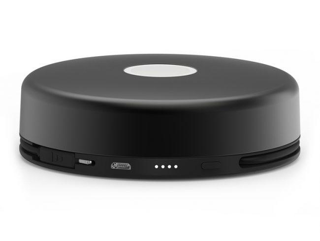 Nomad Pod Pro, Zusatzakku für Apple Watch/iPhone, 6.000 mAh, spacegrau