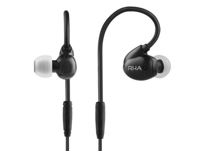 RHA T20i Black, In-Ear-Headset, 3,5 mm Klinke, schwarz
