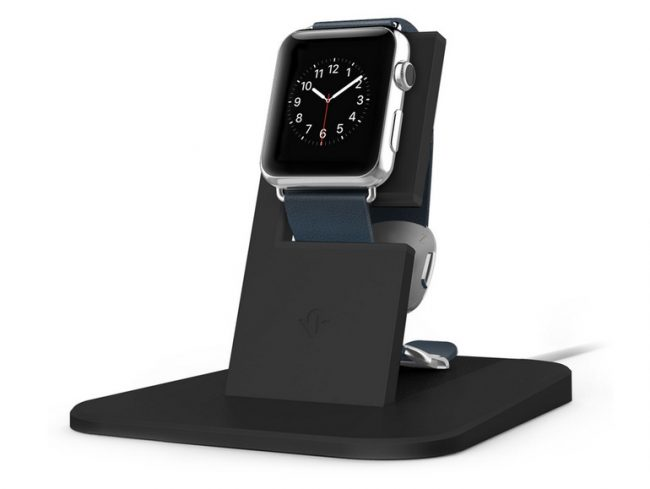 Twelve South HiRise, Ständer mit Ladestation für Apple Watch, schwarz